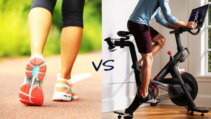 Stationary Biking vs walking