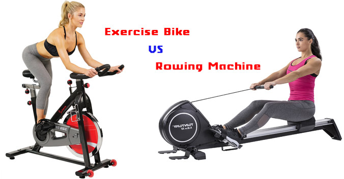 Rowing Machine Vs Exercise Bike