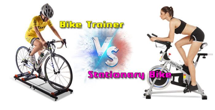 Bike Trainer Vs Stationary Bike