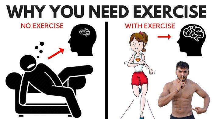 Why should you exercise daily?